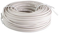 2PGBWIRE30 30' Roll of 2 Prong Bell Wire for Sensors and Wall Consoles